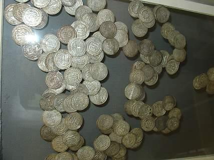 Клад из серебряных монет в Чердыни