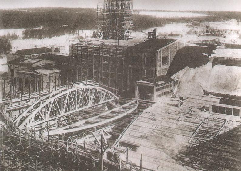 Строительство Соликамского калийного комбината— строительство цехов